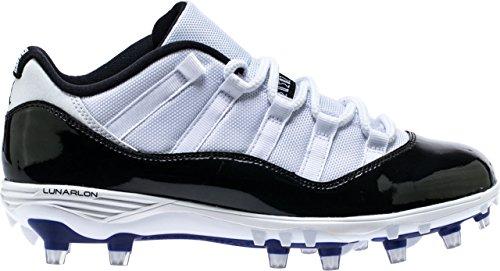 Football 123 - Nike Jordan XI Retro Low TD Mens Soccer-Shoes AO1560-123_14 - White/Black-Concord-Black