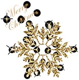 Ebelth Merry Christmas Window Wall Sticker Decals Snowflake Santa Claus Home Xmas Decor / Ebelth Merry Christmas Window Wall Sticker Decals Snowflake Santa Claus Home Xmas Decor