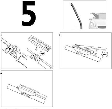 Bosch 3397006882/Wiper Blade aeroeco mm 450/AE45