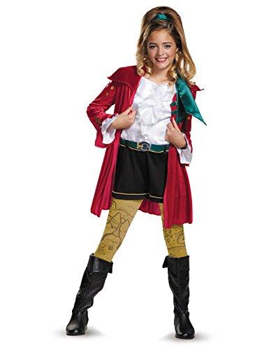 CJ Deluxe Descendants Wicked World Disney Costume, X-Large/14-16 -
