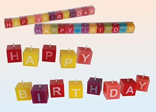 Feliz cumpleaños de velas de cumpleaños con velas con las ...