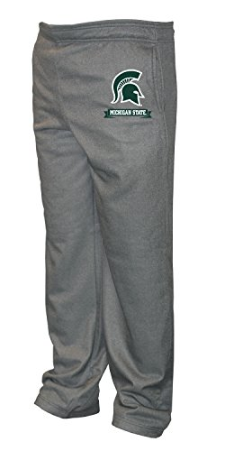 - Old Varsity Brand NCAA Michigan State Spartans Big Men's Poly Fleece Pants, 4X-Large, Dark Heather