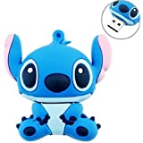 TopOne 8GB Cute Cartoon Stitch Shaped USB Flash Drive / Memory Stick -Blue