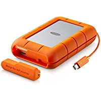 LaCie 4TB Rugged RAID 2.5 External Hard Drive, Thunderbolt, USB 3.0