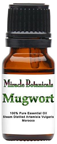 (Miracle Botanicals Mugwort Essential Oil - 100% Pure Artemisia Vulgaris - Therapeutic Grade - 10ml)