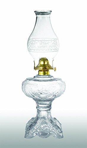 B&P Lamp Princess Feather Pattern, Kerosene Lamp Princess Feather Pattern
