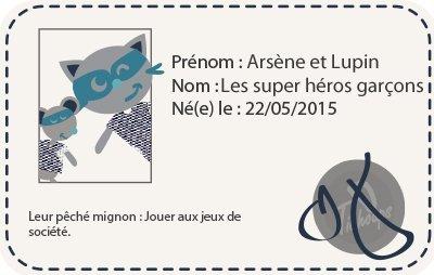 Chaussons BÉbÉ Cuir Souple Arsene Et Lupin Les Super Heros-27/28