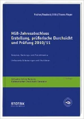 Hgb Jahresabschluss Erstellung Prüferische Durchsicht Und Prüfung