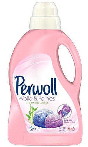 Perwoll Wolle & Feines, flüssig, Waschmittel, 32 WL, 2er Pack (2 x 16WL)