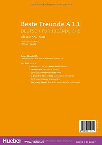 BESTE FREUNDE A1.1 Glos.XXL.Esp. (BFREUNDE)