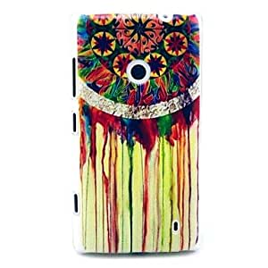 Colorful Rainbow Dream Catcher Pattern Hard Case for Nokia Lumia N520