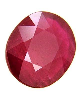 Buy Malabar Gems Ruby/Manik 10 Carat Lab Certified Natural Burmese