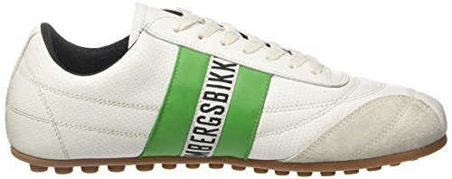 Basses Green Bikkembergs Bianco Mixte White Soccer 106 Adulte qvwBO