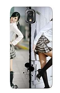 Exultantor Slim Fit Tpu Protector Nhdddv-5418-mnkusem Shock Absorbent Bumper Case For Galaxy Note 3