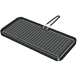 "Magma Products, A10-195 Reversible Non-Stick Griddle, 8"" X 17"""