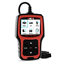ANCEL AD410 OBD II Vehicle Check Engine Light Scan Tool Automotive Code Reader Auto OBD2 Scanner with I/M Readiness