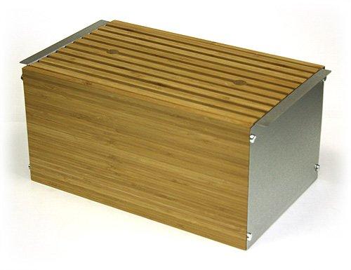 Simply Bamboo Extra Large Napa Bamboo Amp Brushed Stainless