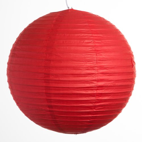 Round-Party-Wedding-Lanterns-20-Inch-Red-Even-Ribbed-Paper-Lanterns