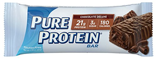 Pure Protein Chocolate Deluxe, 50 gram, 6 count (Pack of 2)