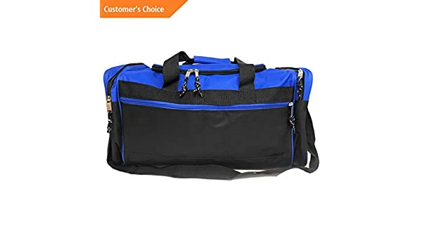 Amazon.com | Sandover Duffle Bags w Shoulder Strap Sports School Gym Travel gage Carry-On 21 inch | Model LGGG - 11874 | | Luggage
