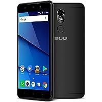 BLU Grand 5.5 HD II G210Q 16GB Unlocked GSM Dual-SIM Android Phone w/ 13MP Camera - Black (Certified Refurbished)