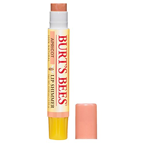 Burt's Bees 100% Natural Moisturizing Lip Shimmer, Apricot - 1 Tube 100% Natural Lip Gloss