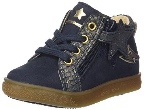Babybotte Adrenaline, Zapatillas Altas para Niñas azul (Marine)