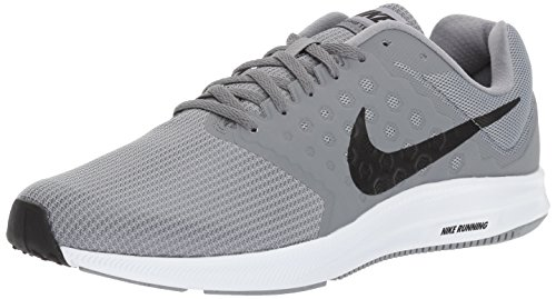 7 white Running Compétition Homme cool Gris Chaussures Nike Black Downshifter de Stealth Grey Bw7qq5R