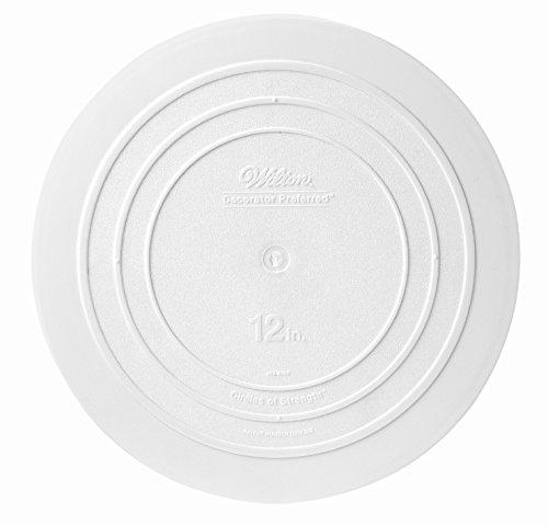 - Wilton 302-4104 Smooth Edge Separator Plate for Cakes, 12-Inch