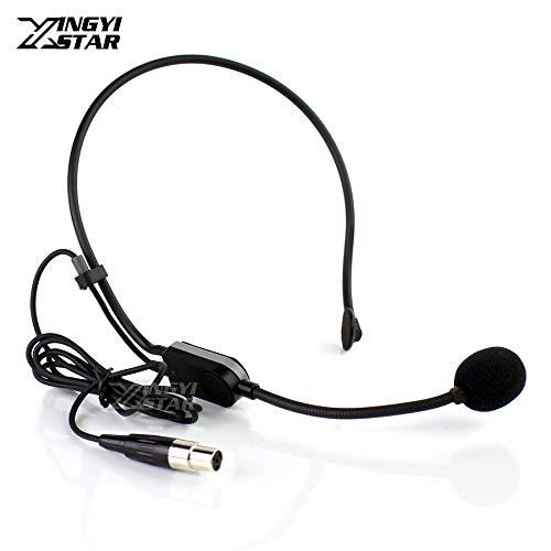 HATCHMATIC Mini XLR 4 Pin TA4F Earset Headset Microphone Headworn Mic For SHURE PGA31 FM Wireless System Beltpack KCX1 PGX1 PGX14 BLX1 SLX1: FitForSHURE ()