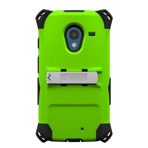 Trident Case Kraken AMS Series for Motorola X - Retail Packaging - Green