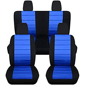 Amazon Com 2011 2017 Jeep Wrangler Jk Seat Covers Black