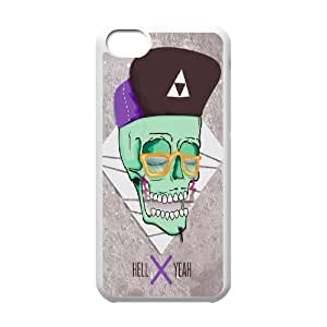 Custom Colorful Case for Iphone 5C, HELL YEAH Cover Case - HL-519234