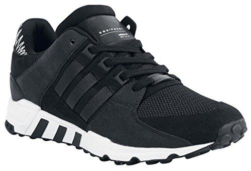 Les Hommes Adidas Eqt Support Noir Sneaker Rf (negbas / Ftwbla De Carbone)