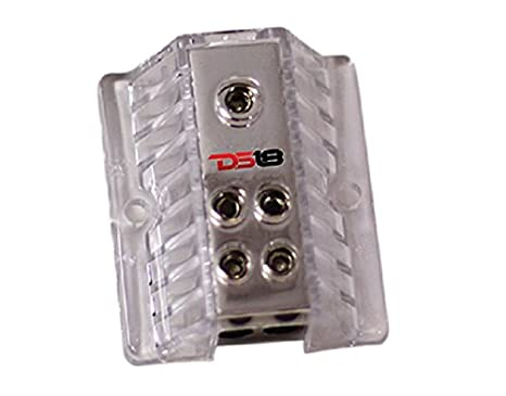 DS18 DB1024 1X0GA In//2X4GA Out Power Distribution Block DS18Sound