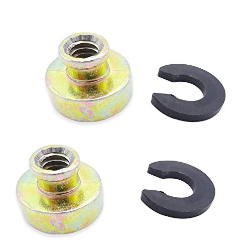 2pcs Rear Fender Solo Seat Bolt Nut Base Replace for Harley Davidson Touring Softail Dyna Sportster Model