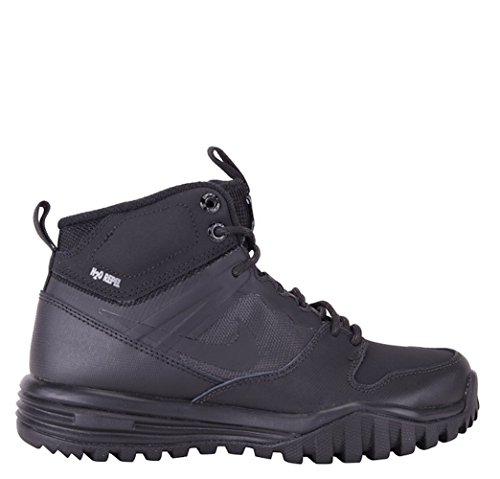 NIKE Boy's Dual Fusion Hills Mid Boot (GS) Black/Black/Anthracite/Black 6.5Y
