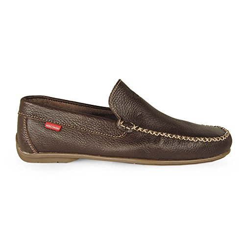 Wisconsin - Mocasin Copete Marron