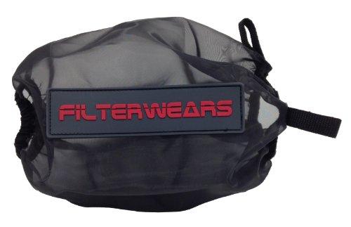 FILTERWEARS Black Water Repellent Pre-Filter K353K Fits K&N Air Filter SU-4002 SUZUKI LTZ400 QUADSPORT, SUZUKI EIGER/VINSON; KINGQUAD 400