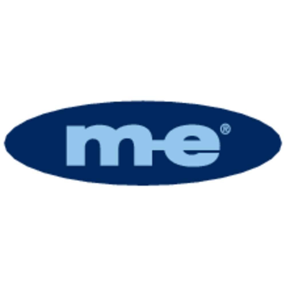M-E MODERN-ELECTRONICS Plaque de Sonnette 1 Voie KTA-1 W Blanc 12 V//1 A