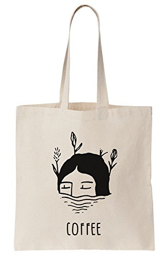 Coffee Drowning A Start Morning Canvas Tote To Very Girl In Hard Wild Bag Way Only The qft5zx8z
