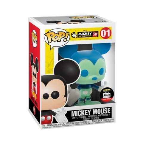 Funko POP! Disney: Mickey's 90Th - Mickey Mouse [Blue/Green] 01 Shop Exclusive Limited ()