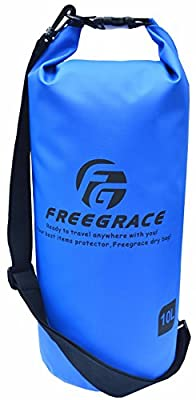 Freegrace® #1 Top Premium Heavy Duty Waterproof Dry Bag with Adjustable Shoulder Strap