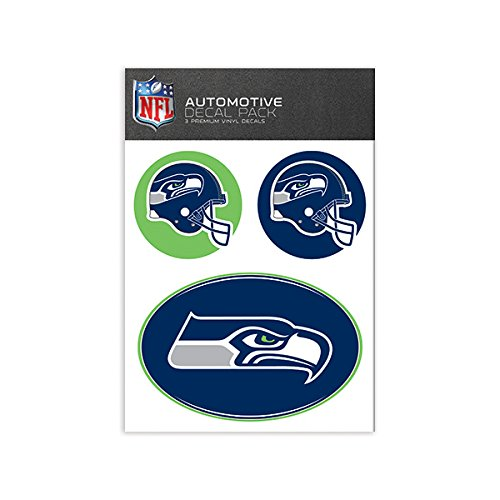 NFL Seattle Seahawks Medium Decal Pack (Seahawks Wall Decal)