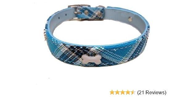 Plaid Scottie Dog Collar