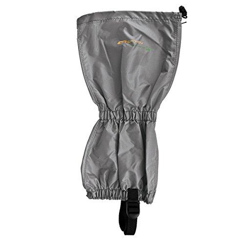 Spokey® Scout/Infantry Polainas (Sirven Polainas Soporte manguito protectora Nordic Walking Trekking Senderismo Jardín Exterior) Gris - Light gray