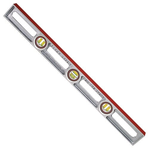 Sands Level & Tool SL3030 Professional Cast Aluminum Level, 30-Inch ()