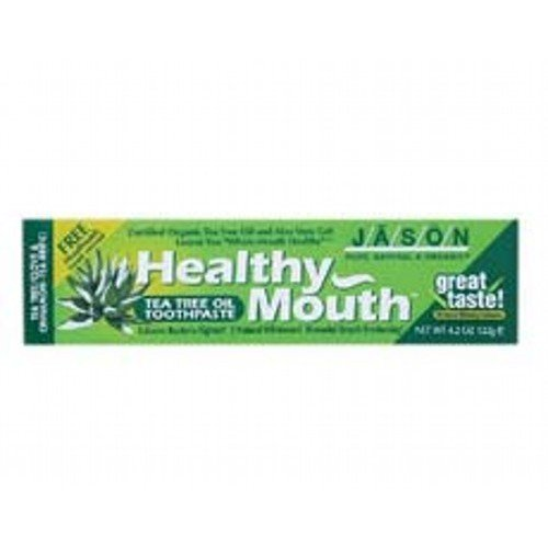 (2 Pack) - Jason Bodycare - Healthy Mouth Tea Tree Toothpa | 122g | 2 PACK BUNDLE