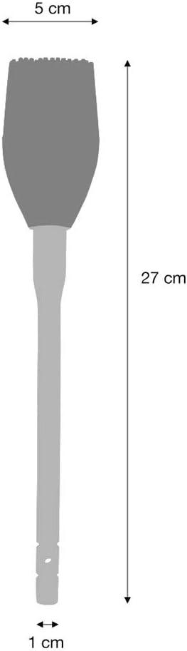Pinceau /À P/âtisserie en Silicone ProCook Manche bois T/ête Flexible Couleur Cr/ème