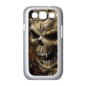 Samsung Galaxy S3 9300 Cell Phone Case White Gestaltkopf S2K7SQ